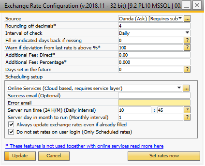 Currency Rates Configuration Image106