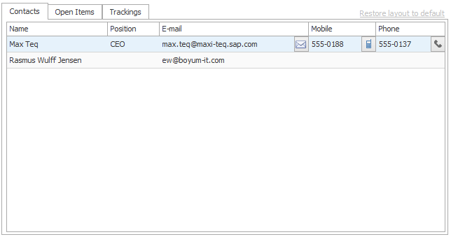 CRM for Outlook Manual